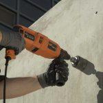 Как просверлить отверстие в стене