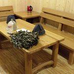деревянная мебель для бани и сауны