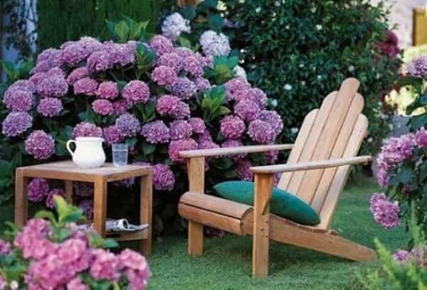 садовое кресло из дерева своими руками