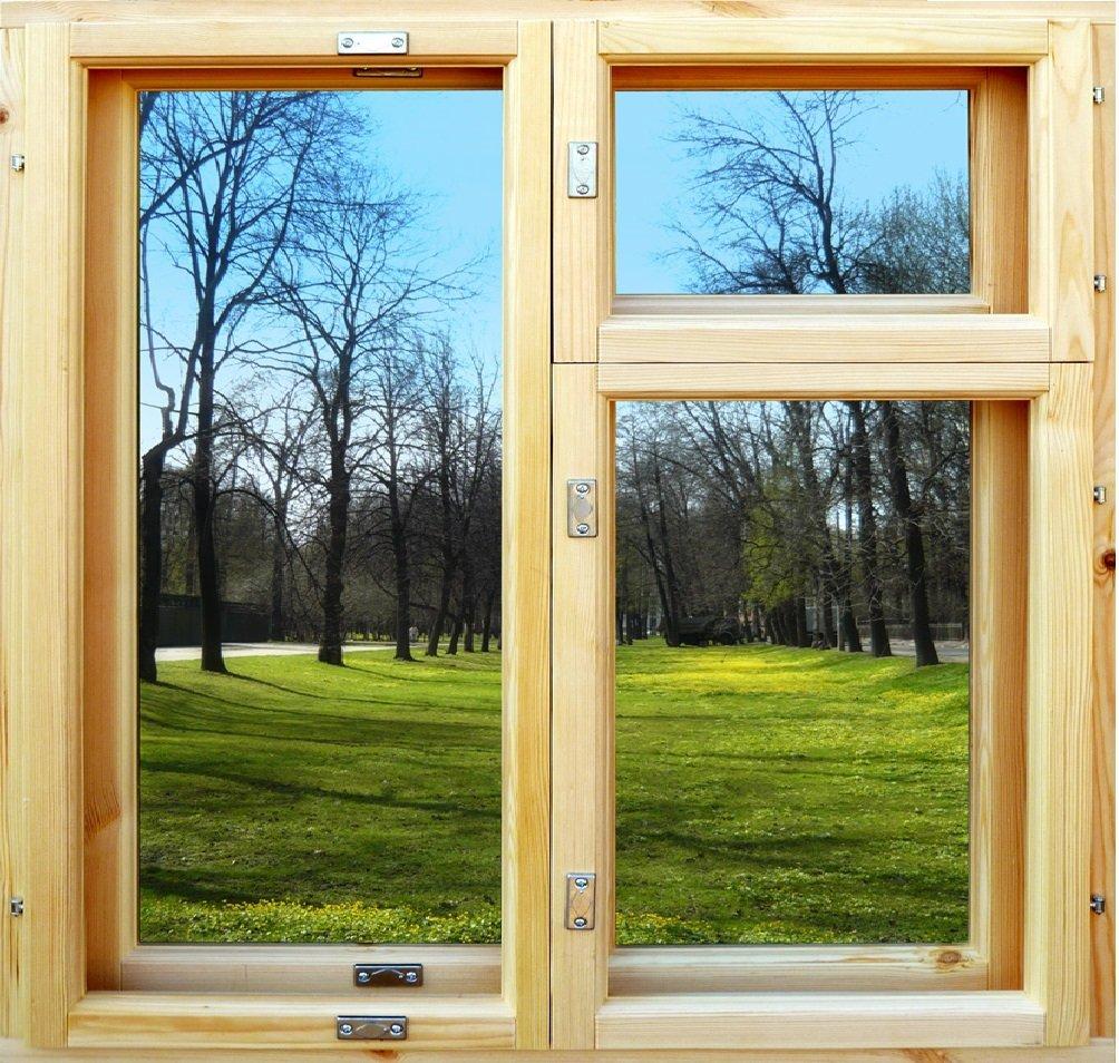Как покрасить деревянные окна и не испортить стены